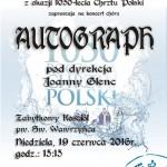 Plakat Rybnik-Ligocka Kuźnia 1050 lat Chrztu Polski